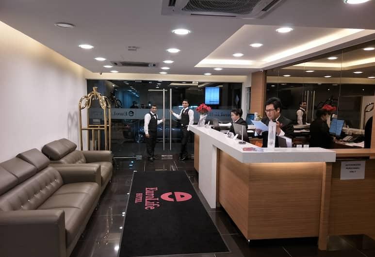 Euro Life Hotel KL Sentral, Kuala Lumpur, Lounge Lobi