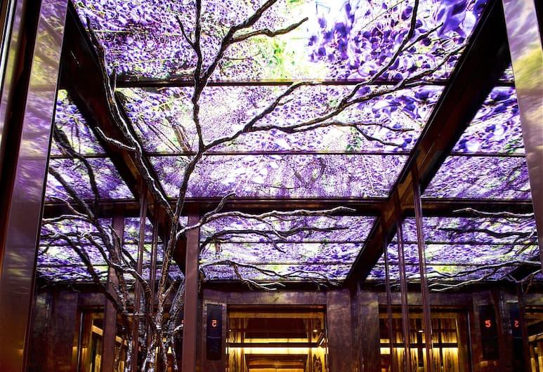 arTree hotel, Taipei, Binnenkant hotel