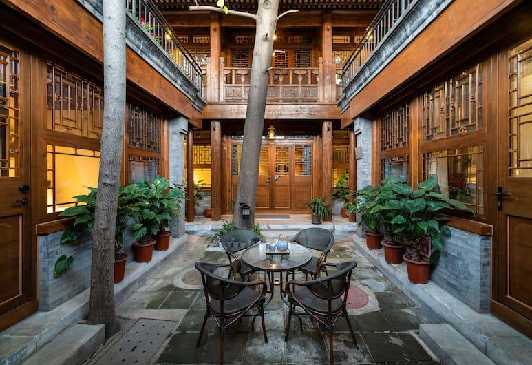 ManXin Qianmen Courtyard Hotel, Peking, Innergård