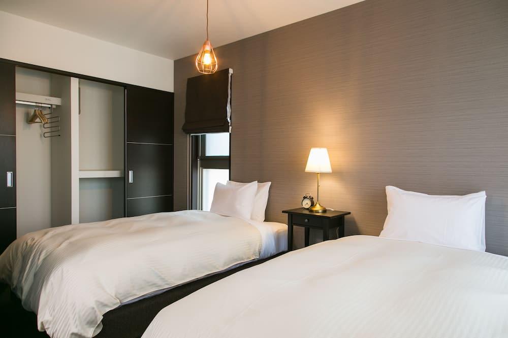 2ベッドルームアパートメント  - リビング ルーム