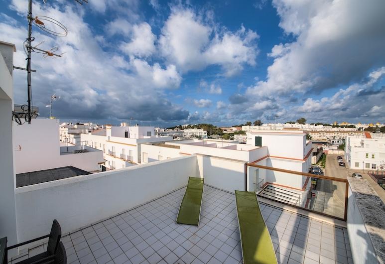 Apartamentos Mercurio 49, Conil de la Frontera, Traditionelt dupleks - 2 soveværelser - terrasse, Terrasse/patio