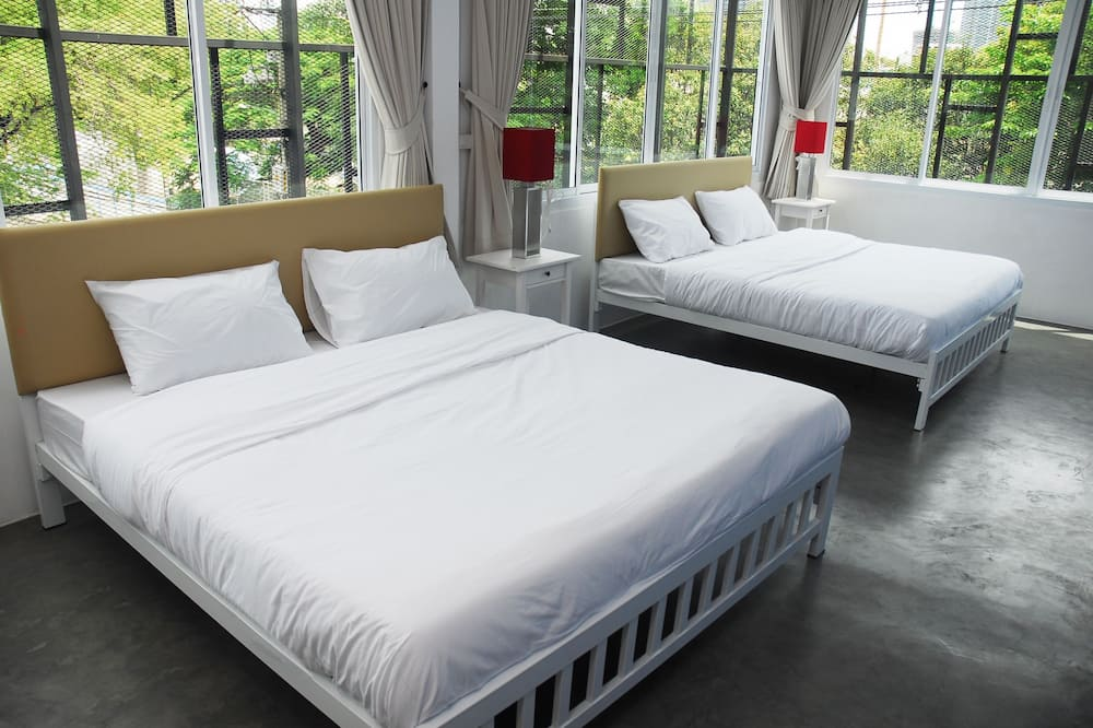 Familien-Doppelzimmer, 2Queen-Betten - Zimmer