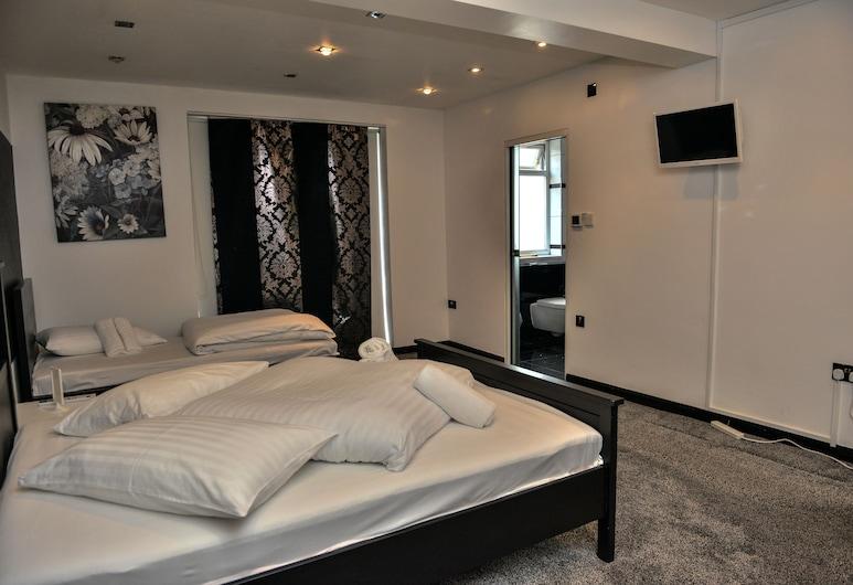 The Ne Ville, London, Basic-Doppelzimmer, Gemeinschaftsbad, Zimmer