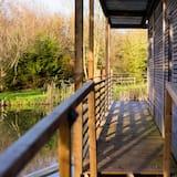 Unique Floating Lodge - Eider - Balcony
