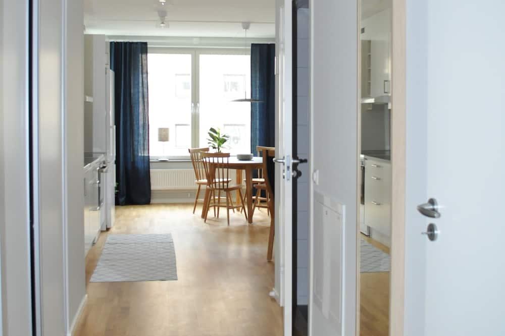 Apartamentai, 1 miegamasis, virtuvė - Svetainės zona