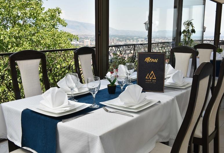View Inn Boutique Hotel, Skopje, Khu ẩm thực ngoài trời