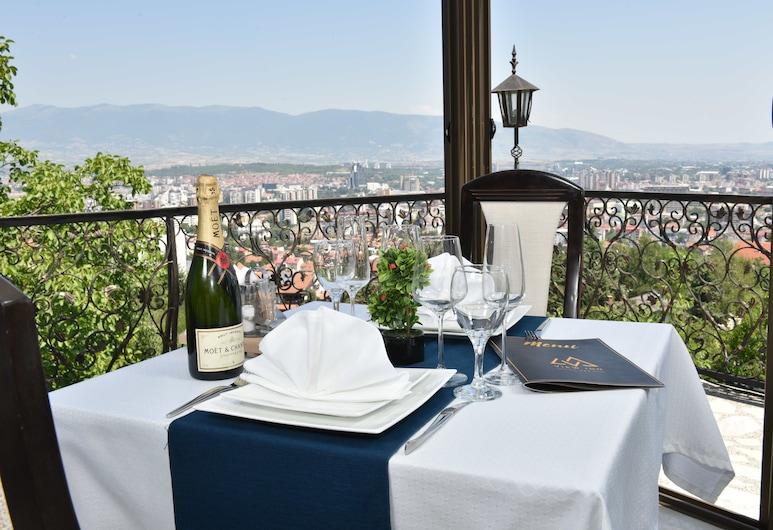 View Inn Boutique Hotel, Skopje, Restaurante