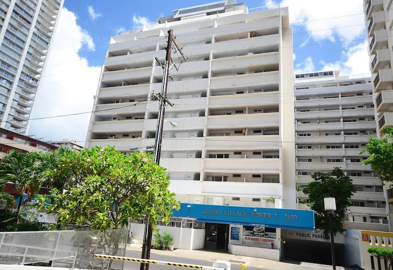 Kuhio Village #807 by RedAwning, Honolulu, Apartment, 1 Bedroom, View from room