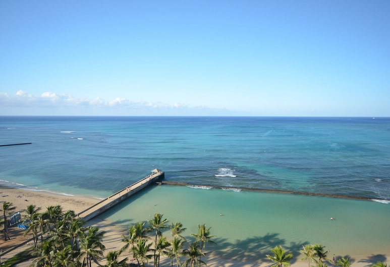 Kuhio Village #1004A by RedAwning, Honolulu, Apartment, 1 Bedroom, Beach