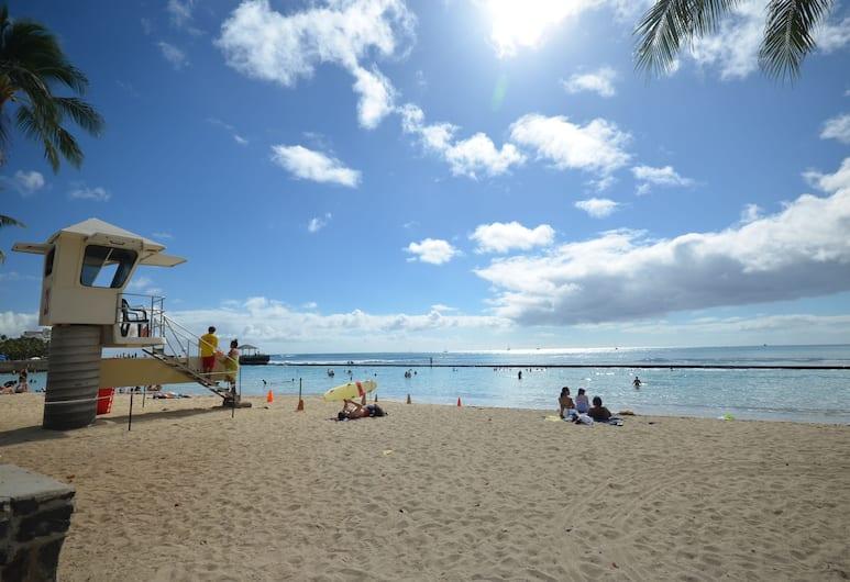 Kuhio Village #1201R by RedAwning, Honolulu, Apartment, 1 Bedroom, Beach