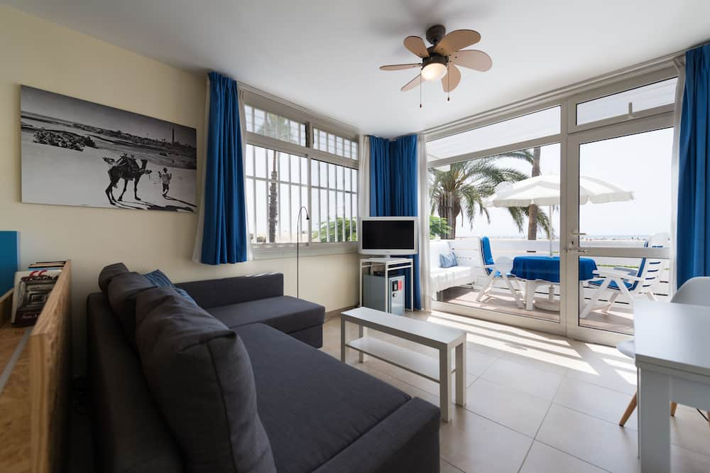 公寓, 1 間臥室, 陽台, 海景 - 客廳