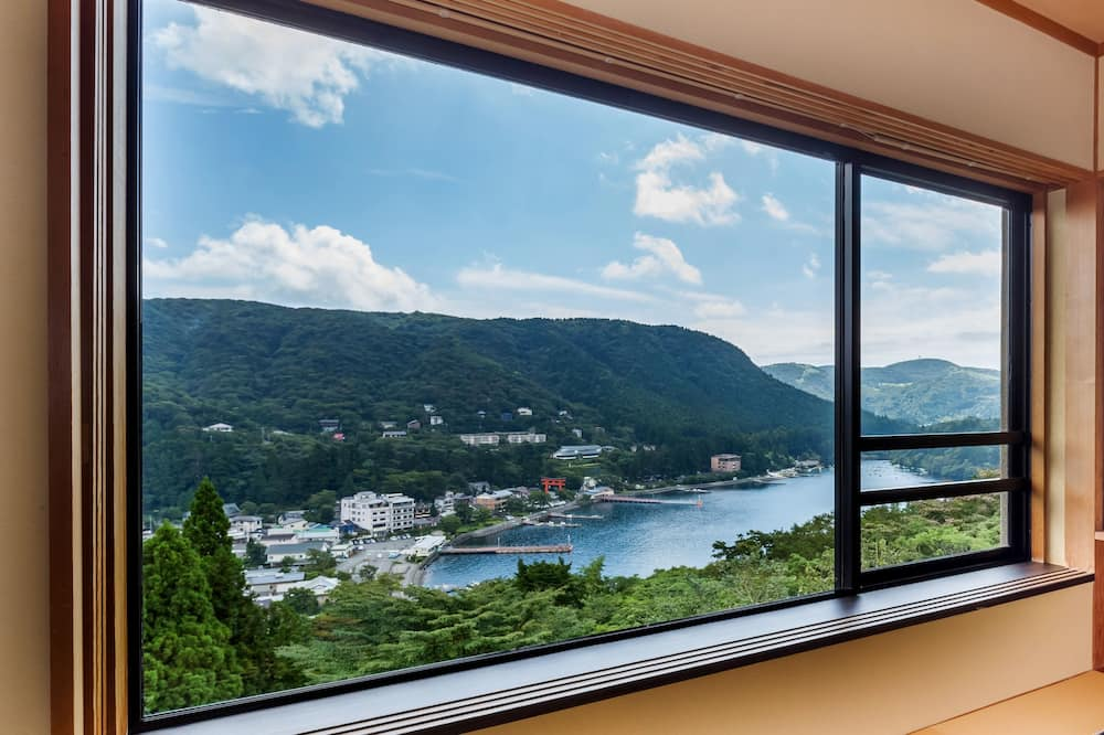 TYPE 1 和室12畳 / 芦ノ湖棟 / 喫煙可 (代理予約不可) - 客室からの眺望