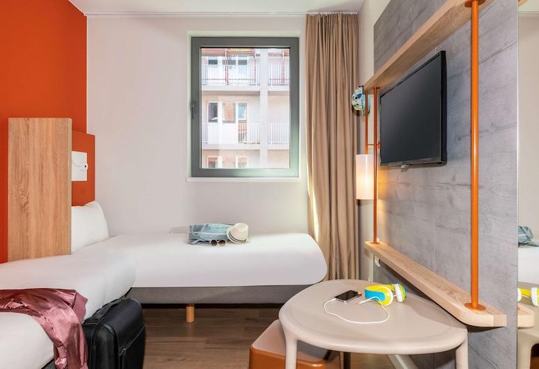 ibis budget Gent Centrum Dampoort, Gent, Zweibettzimmer, 2Einzelbetten, Zimmer