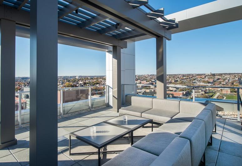 Residence Inn by Marriott Baltimore at The Johns Hopkins Medical Campus, Baltimore, Balkon