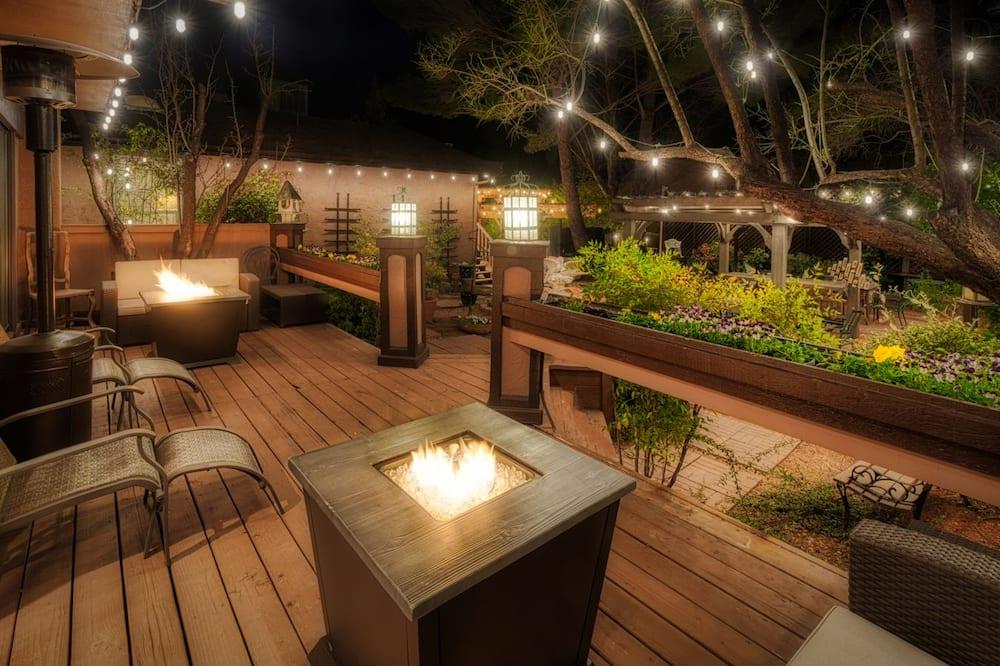 Luxury-Zimmer, 1King-Bett - Terrasse/Patio