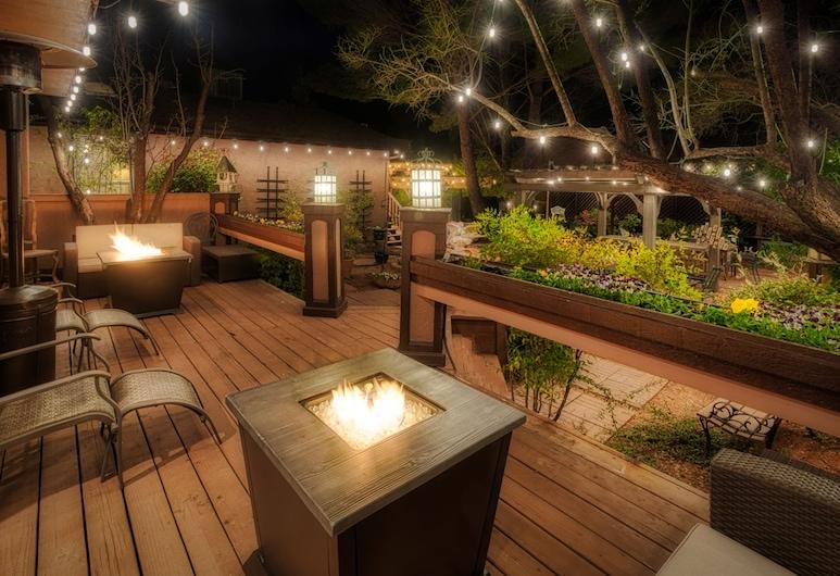 Lantern Light Inn - Romantic Getaway, Sedona, Luxury-Zimmer, 1King-Bett, Terrasse/Patio