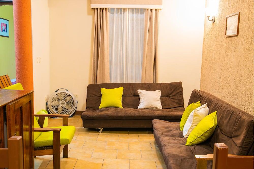 Bungalow familiare, 2 camere da letto - Area soggiorno