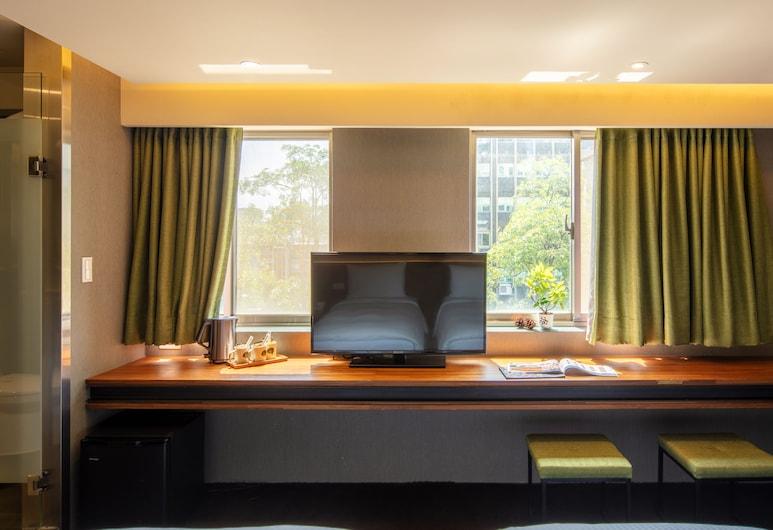 Goodmore Hotel, Taipei, Quarto Triplo Executivo, 1 Quarto, Vista do Quarto