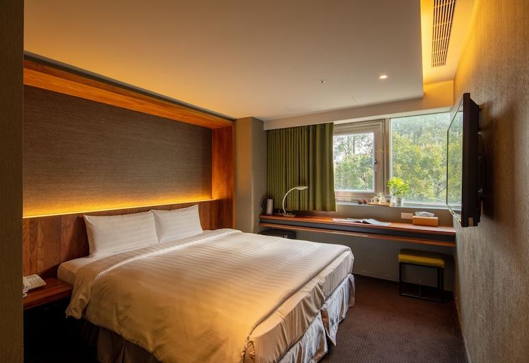 谷墨商旅 , 台北市, 高級雙人房, 1 張標準雙人床, 客房