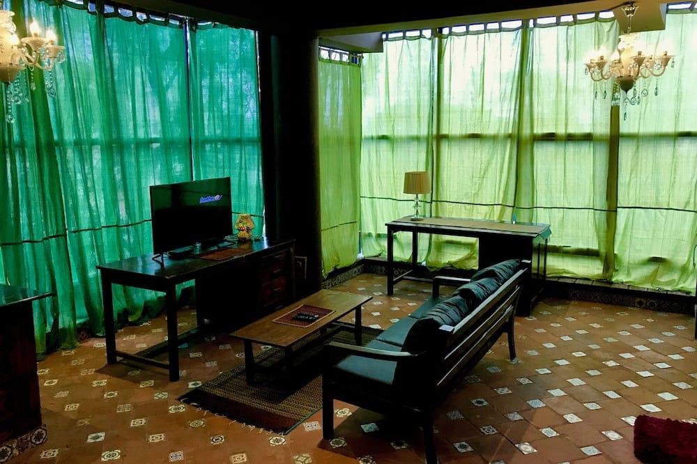 Double Room (Non A/C) - Living Area
