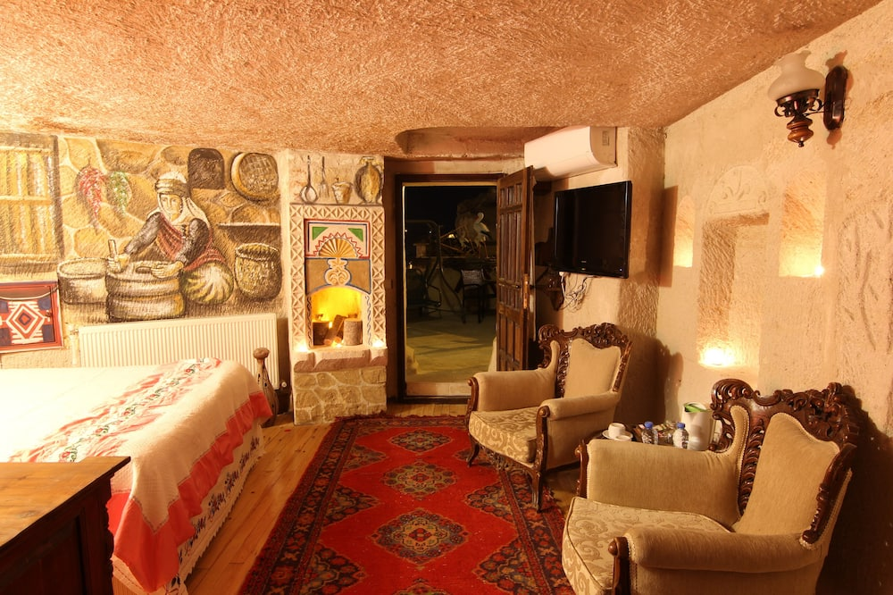 Elite Cave Suite 122 (  Special View and Terrace) - Wohnbereich