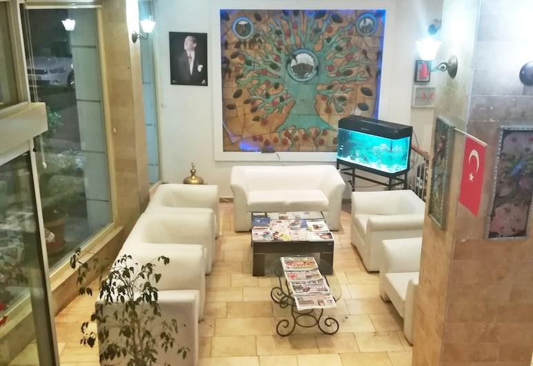 Utkubey Hotel, Gaziantep, Posezení ve vstupní hale
