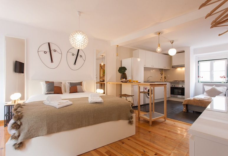 Moniz Studio Apartment - by LU Holidays, Lisbon, Studio (1.º Dto), Room