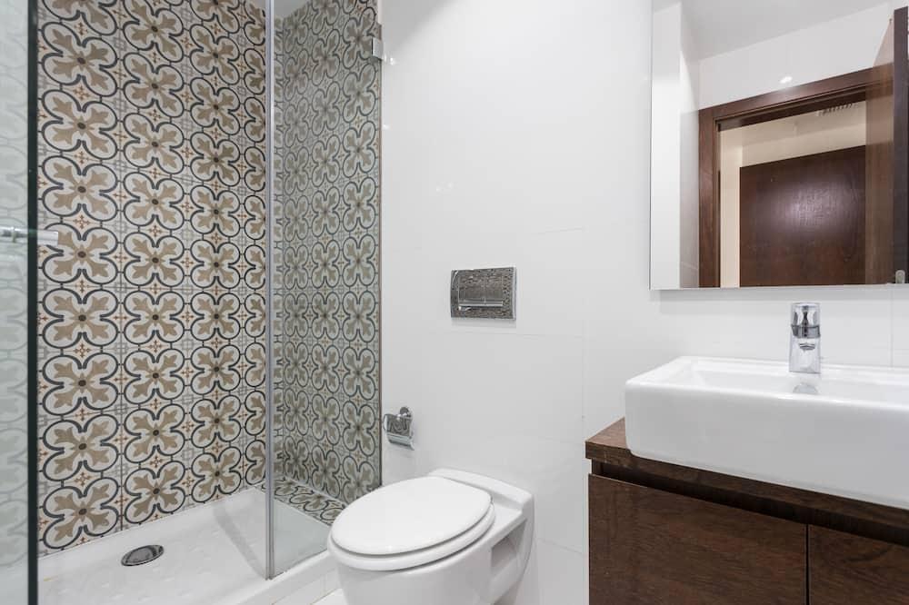 Penthouse, 3 kamar tidur, teras, pemandangan sungai - Kamar mandi
