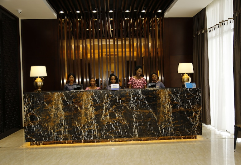 Atlantic Lumley Hotel, Freetown, Reception