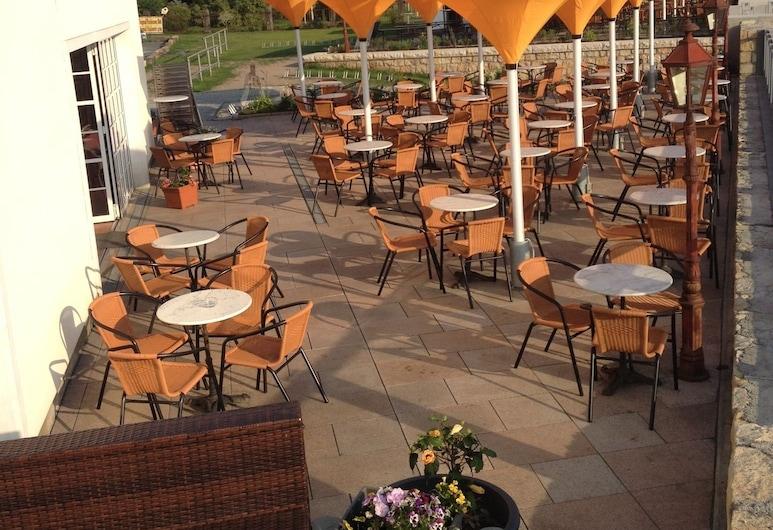 Pension Villa Else, Heidenau, Teras/Veranda