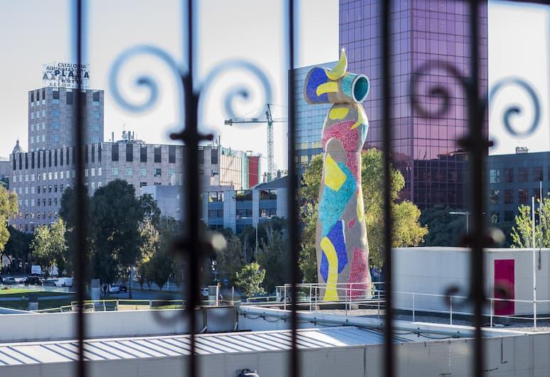 HOMEnFUN Plaza España Apartment, Barcelona, Utsikt från rummet