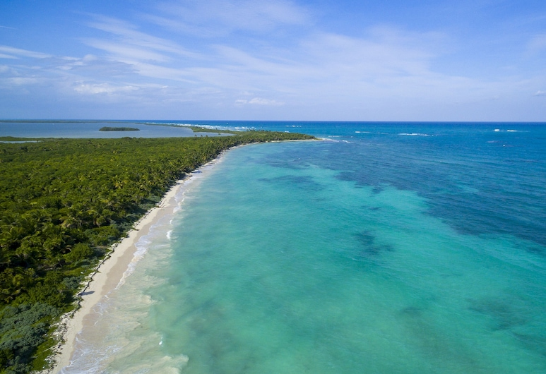 Villa privada frente a la playa 6BR en el corazón de Sian Ka'an Tulum, Punta Allen, Playa