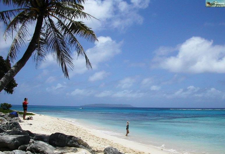 Tinian Ocean View Hotel, Tinian, Beach