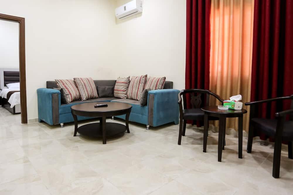 סוויטה, חדר שינה אחד - סלון