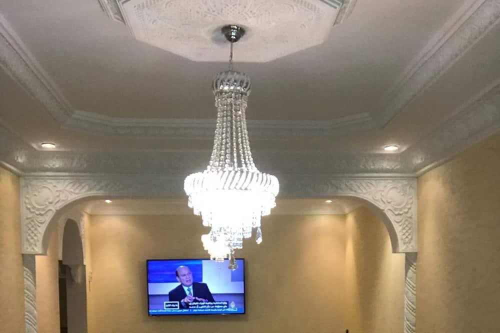 럭셔리 아파트 - 거실