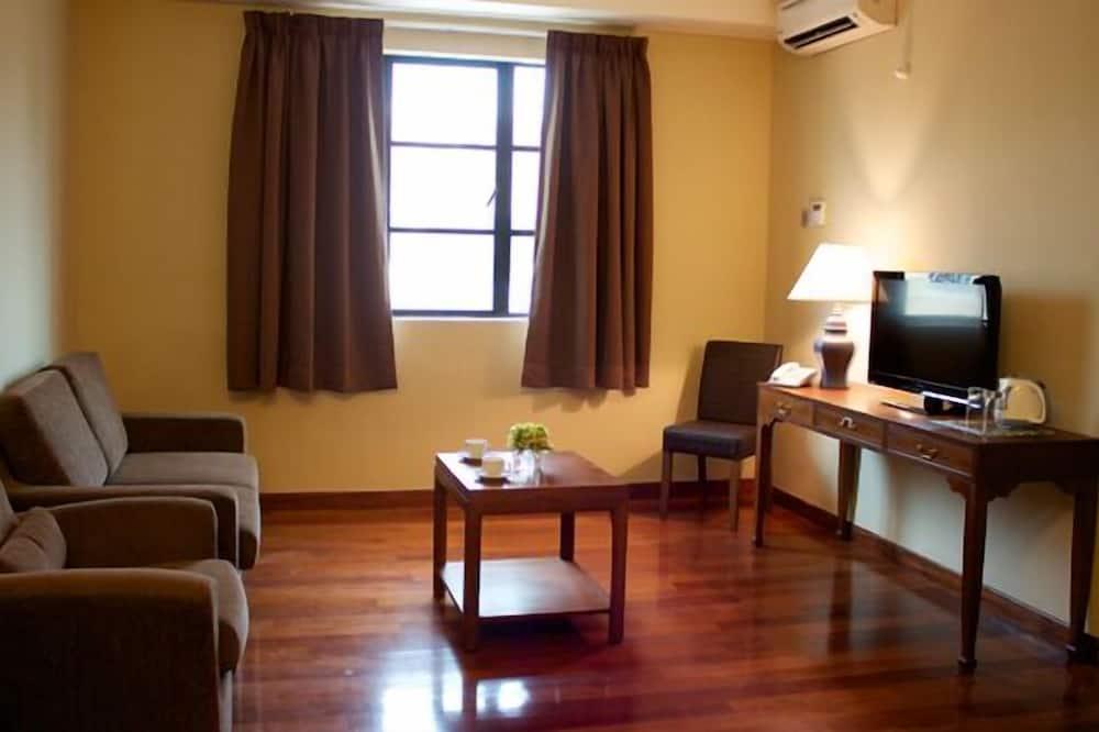 Dvivietis kambarys (2 viengulės lovos) - Svetainė