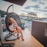 Luxury-Apartment, 2Schlafzimmer, 2 Bäder - Balkon