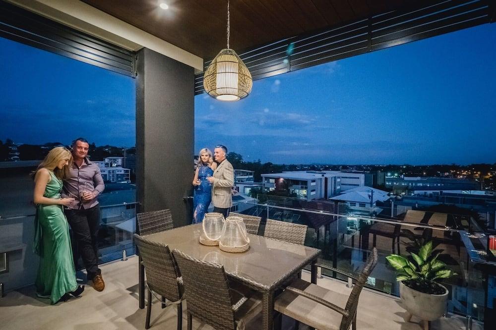 Apartment, 2Schlafzimmer, 2 Bäder - Balkon