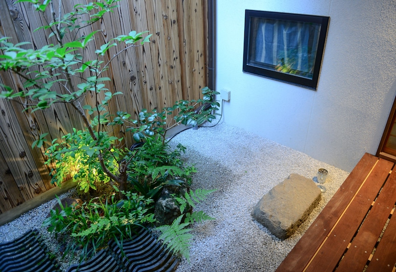 京都南二京旅館, Kyoto, 花園