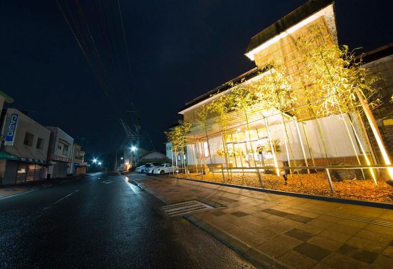 Ryokan Tamanoyu, Satsuma, Pročelje hotela – navečer/po noći