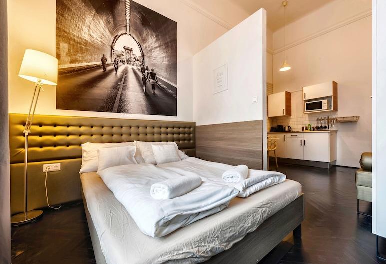Adagio hostel 2.0 basilica, בודפשט, Studio Apartment, חדר אורחים