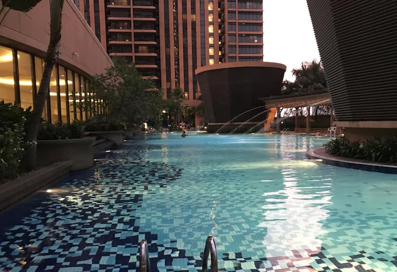 Luxy Service Suites At Times Square, Kuala Lumpur, Piscine