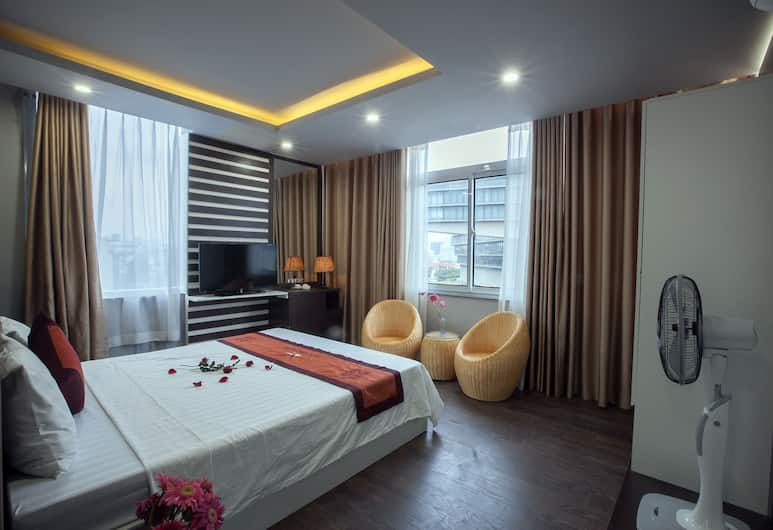 Nam Long Hotel Ha Noi, Hanoi, Deluxe Room, Non Smoking (View), Guest Room