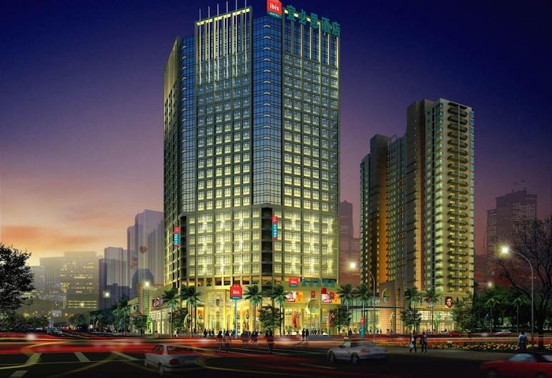 ibis Styles Wuhan Optics Valley Square Hotel, Wuhan, Hotellin julkisivu illalla/yöllä