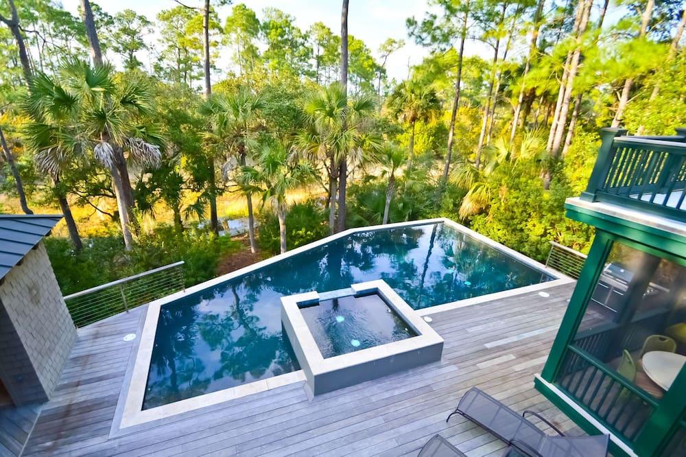House, 5 Bedrooms, Balcony (113 Blue Heron Pond) - Pool