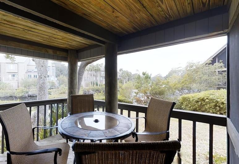 4581 Parkside Villa by RedAwning, Kiawah Island, Huvila, 2 makuuhuonetta, Kylpyamme (4581 Parkside Villa), Parveke