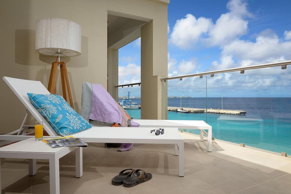 Deluxe Penthouse, 3 Bedrooms, Terrace, Ocean View - Balcony