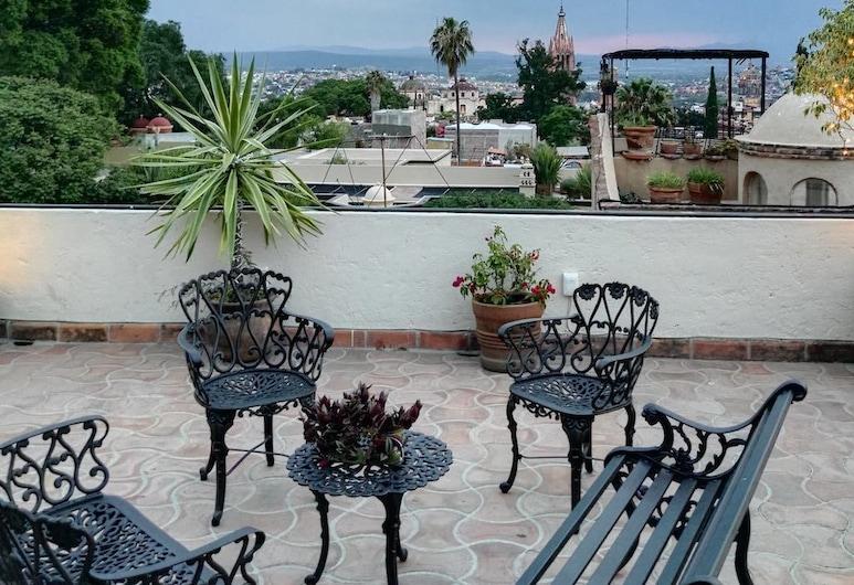 Hotel Barranca 10, San Miguel de Allende, Hiên