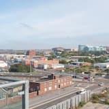 Klasikinio tipo apartamentai, 2 miegamieji, vaizdas į miestą - Vaizdas iš balkono