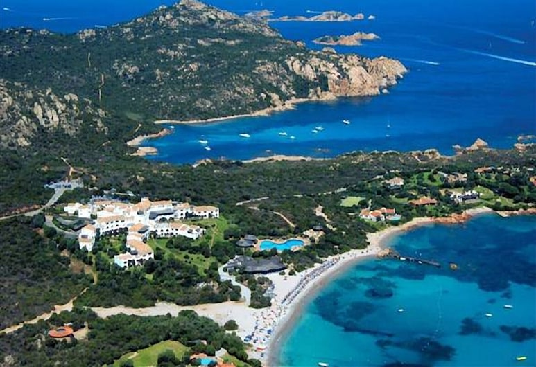 In Elegant Residence With Breathtaking Views Over the Archipelago of La Maddalena, Arzachena, Beach
